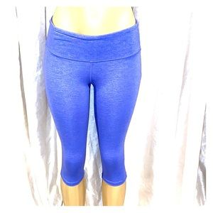 Athleta Blue Capri Leggings